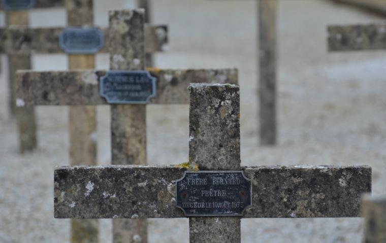 La Trappe, Friedhof der Trappistenmönche